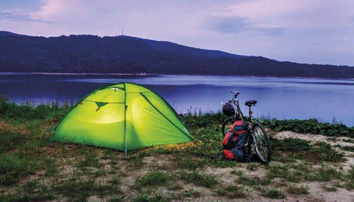 guardar material de acampada