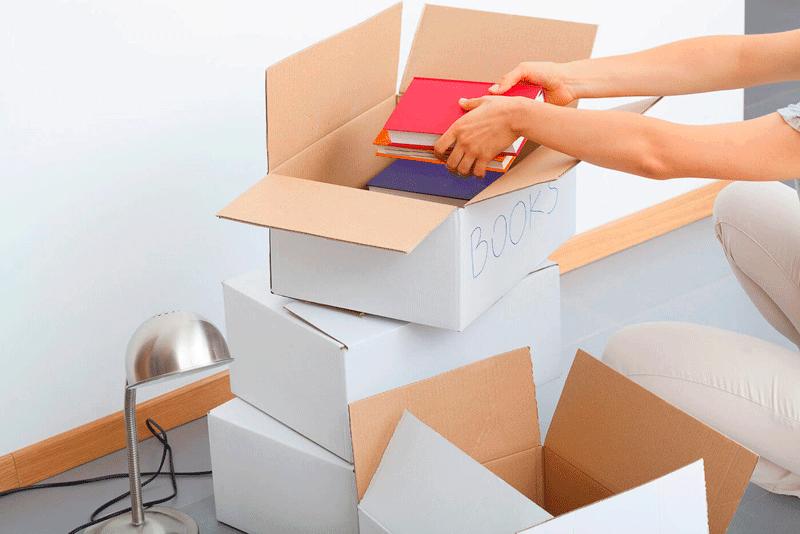 como-guardar-libros-en-trastero